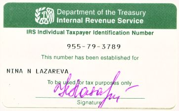 tax id number